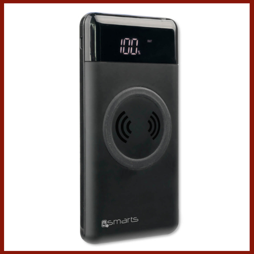 4smarts Inductive Qi Power Bank VoltHub 10000 mAh