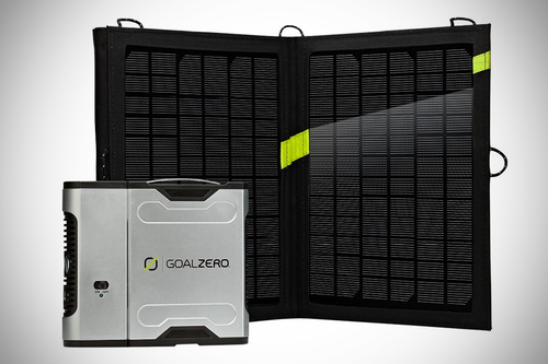 Powerful solar charging kit - Sherpa 50 Solar Kit