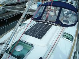 Solar modules for boats, caravans and campers